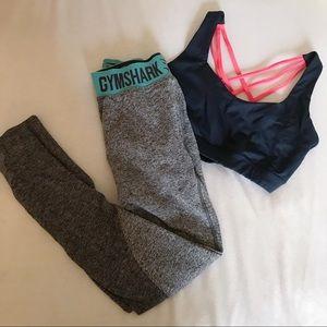 Gymshark gray flex leggings